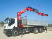 Iveco Stralis STRALIS EURO 5 TRE ASSI GRU JIB 24 MT RIBALTABILE truck
