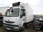 camion frigo Renault incidentato
