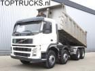 vrachtwagen Volvo FM 12.380 8X4 TIPPER MANUAL / SPRING AIRCO