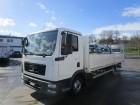 MAN TGL 8.220 BL Pritsche 7,10 m AHK Luft HA truck