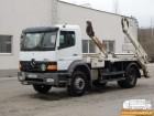ciężarówka bramowiec Mercedes używana