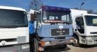 ciężarówka platforma burtowa MAN używana