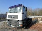 camion scarrabile MAN incidentato