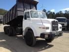 camião basculante para rochas MAN usado