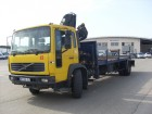 used Volvo iron carrier flatbed truck