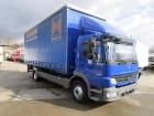 camion Mercedes Atego 1229 / 1529 L Pritsche 7,40 m SCHIEBE