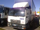 used MAN tautliner truck