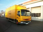used Renault plywood box truck