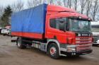 ciężarówka Plandeka Scania używana