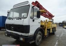 ciężarówka beton betoniarka / Mieszarka Mercedes używana