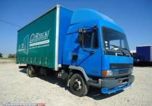 ciężarówka burtoplandeka DAF używana