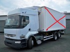 ciężarówka do transportu kontenerów Renault używana