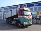 ciężarówka wywrotka trójstronny wyładunek DAF używana