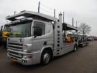 used Scania car carrier truck