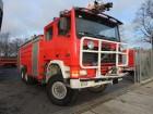 ciężarówka wóz strażacki Volvo używana