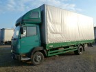 ciężarówka Plandeka Mercedes używana