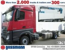 camión Mercedes Actros 2545 L 6x2 mit Kran Standheizung/Sitzhzg.