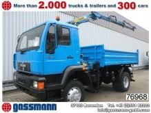 camion MAN 14.224 L80 4x4 mit Kran Palfinger PK 5800 AHK
