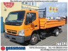 used Mitsubishi three-way side tipper truck