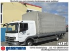 used Mercedes dropside flatbed tarp truck