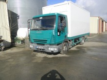 used Iveco plywood box truck