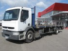 used Renault iron carrier flatbed truck