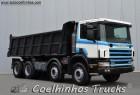 used Scania tipper truck