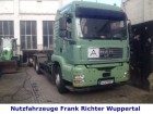 used MAN hook lift truck