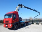 camion cassone fisso Iveco usato