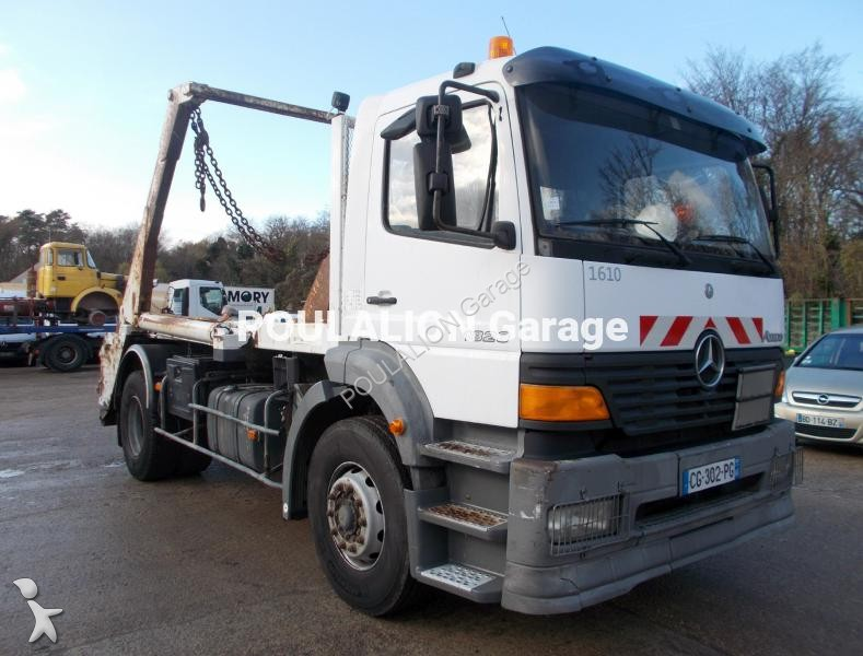 Camion multibenne occasion mercedes atego 1823 gazoil for Garage mercedes bonneuil sur marne
