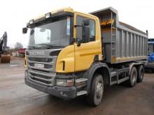 camion benă transport piatra Scania second-hand