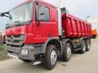 camion benă transport piatra Mercedes nou