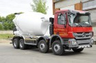 camion betoniera cu rotor/ Malaxor Mercedes nou