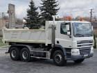 DAF CF 85.340 / 6x4/ 2 STR WYWROT / HYDROBURTA/ truck