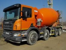 camion betoniera cu rotor/ Malaxor Scania second-hand