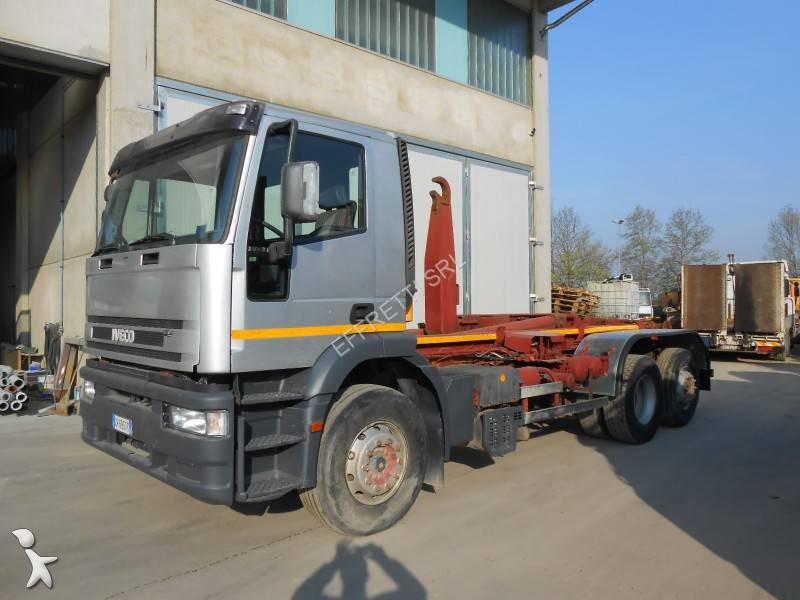 Camion scarrabile usato iveco eurotech 240e38 annuncio n for Effretti usato