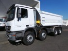 camion Mercedes 4140 K 8x4 VS Mont VS Halbrundmulde 18m³ EUR2