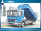 camion Mercedes Atego 1218K Meiller/3sitze/2xAHK/Hydraulik Anhän
