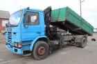 Scania 113H-340 TIPPER + CRANE / BENNE + GRUE - STEEL SPRING / SUSP LAM truck