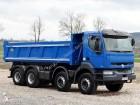 ciężarówka Renault Kerax 420 / 8x4 / WYWROTKA 2 STR / HYDROBURTA /