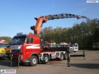 camión Volvo FH 500 8X4 Palfinger PK90002F + Jib PJ154C