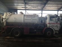 used Mercedes tanker truck