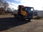 used Scania standard flatbed truck