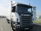 used Scania plywood box truck