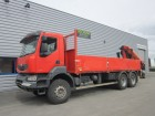 used Renault dropside truck