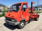 used Renault hook lift truck