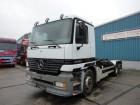 tweedehands vrachtwagen containervervoer Mercedes