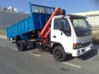 camión volquete Isuzu usado
