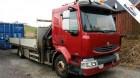 tweedehands vrachtwagen laadplateau Renault