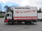 used Volvo meat transport refrigerated truck